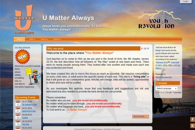 u-matteralways.org